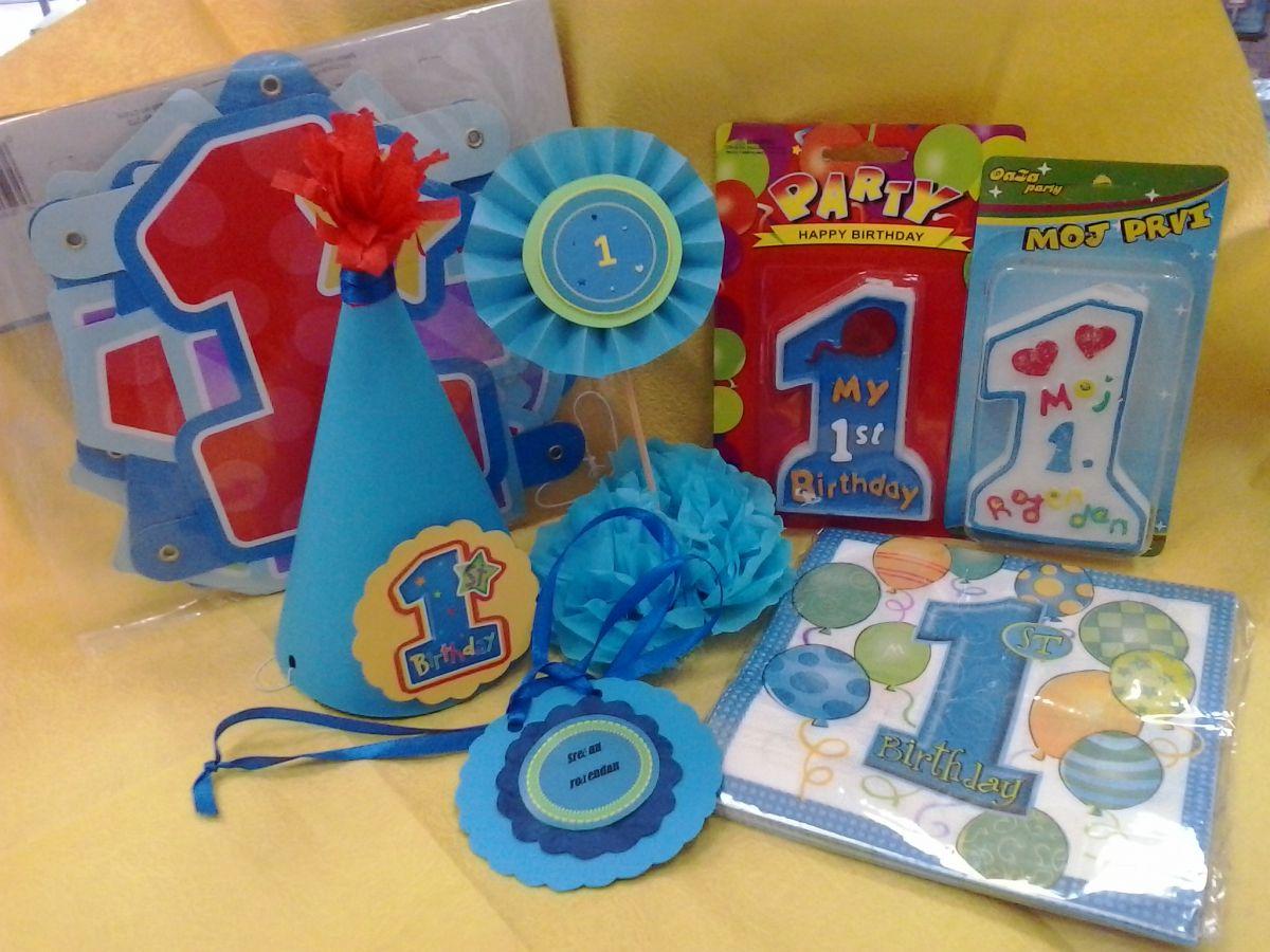 rekviziti za rođendan Vas Divan Dan – Prvi rodjendan za decake rekviziti za rođendan